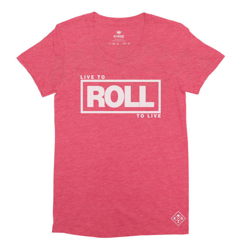 Women's Roll To Live Tee - Red