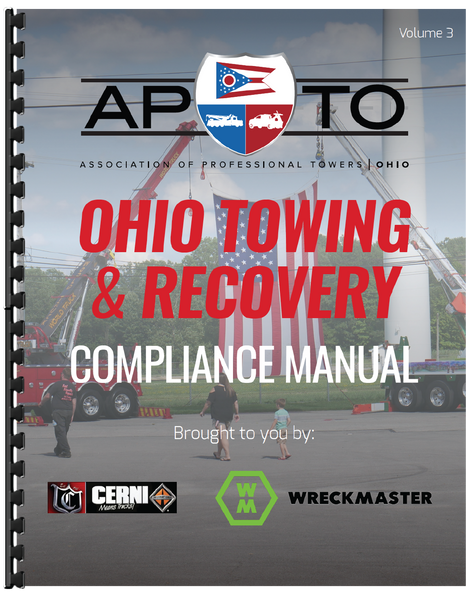 Ohio Towing & Recovery Compliance Manual Volume 3 (Print Copy)