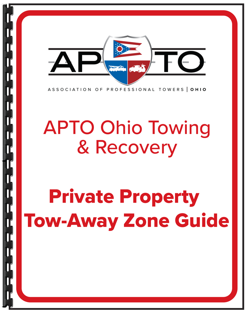 Private Property Tow-Away Zone Guide (Print Copy)
