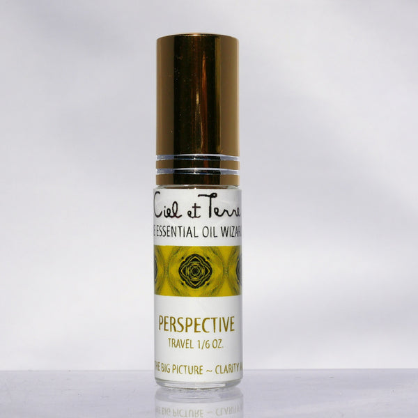PERSPECTIVE 1/6 oz. TRAVEL SIZE MYST atmosphere and linen spray .