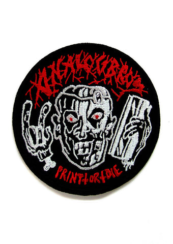 Analogbros - Print or die [nášivka/patch]