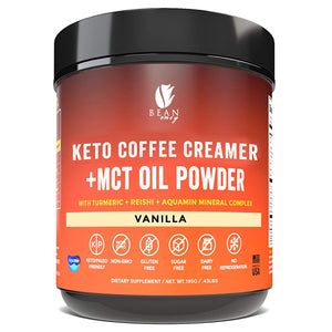 Load image into Gallery viewer, Bean Envy Keto Coffee Creamer - Coconut Milk Powder + MCT Oil Powder - Superfood Blend for Energy & Immunity Boost.