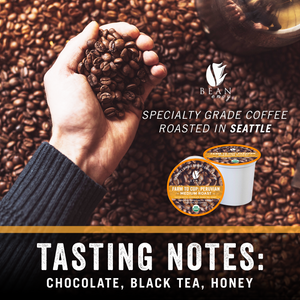Load image into Gallery viewer, Bean Envy Organic Single Serve K Cup Coffee Pods - Fair Trade, Specialty Grade, Small Batch, Medium Roast - Compatible With Keurig Brewers