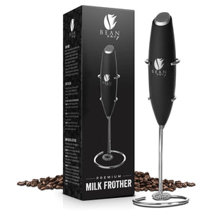 Load image into Gallery viewer, Bean Envy Premium Electric Handheld Milk Frother, Includes Stainless Steel Stand