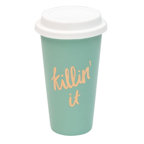 About Face Designs Thermal Mug - Killin' It