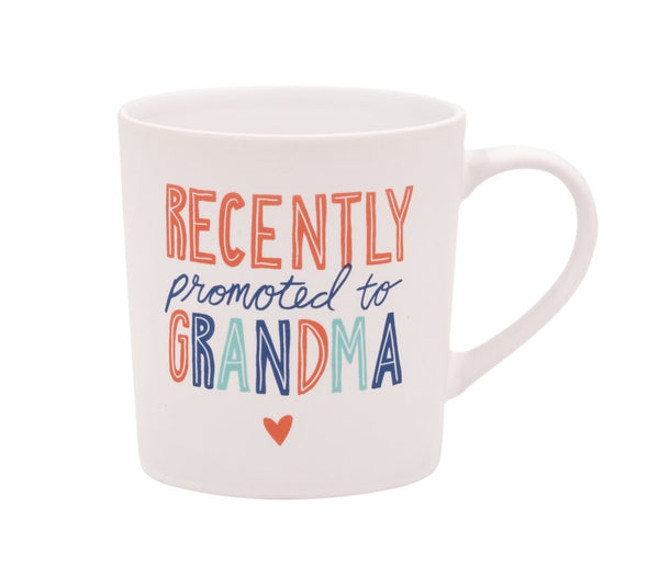 About Face Designs Hello World Ceramic Mug - Recently Promoted To Grandma