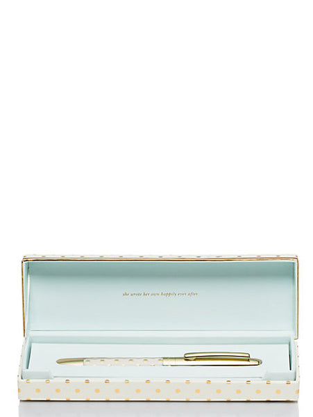 kate spade new york Ball Point Pen - She Wrote Her Own Happily Ever After