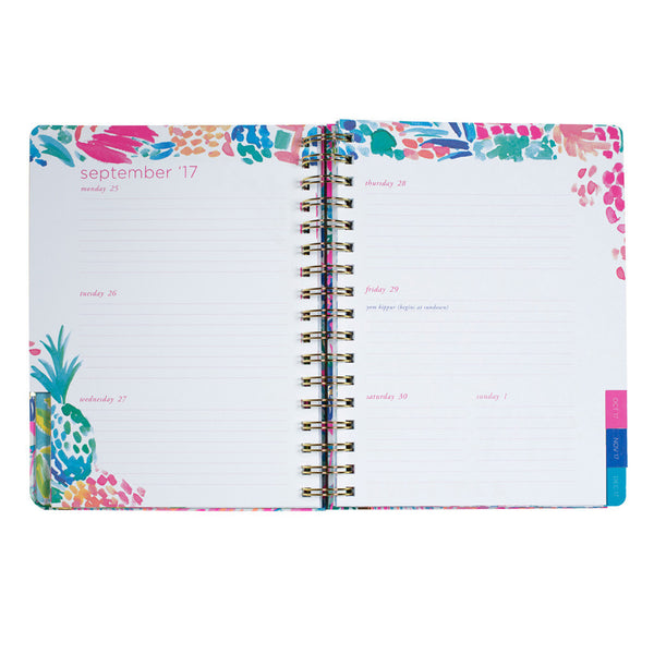 Lilly Pulitzer 2017-2018, 17-month Medium Planner