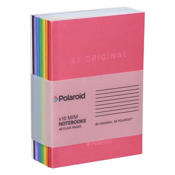 Polaroid Mini Notebook Set of 10 - Spectrum