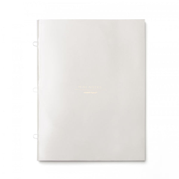 russell+hazel Mini Loop Notebook - Gray