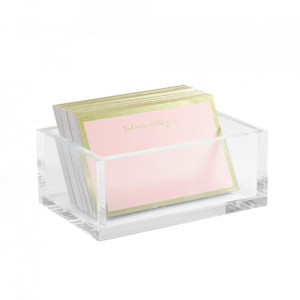 Gold Foil note card pink blush Russell&Hazel