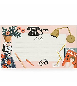 Rifle Paper Co. Paper Crown To Do Notepad