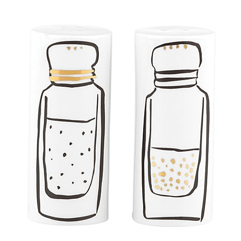 Kate Spade New York Daisy Place Salt and Pepper Shakers