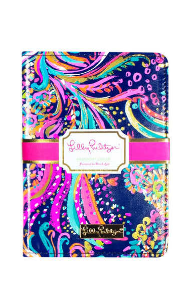 Lilly Pulitzer Passport Cover