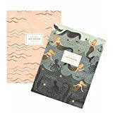 Rifle Paper Co. Mermaid Notebook Set of 2