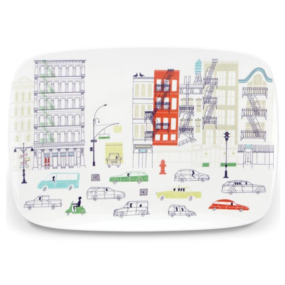 kate spade new york Hopscotch Drive About Town Serving Platter