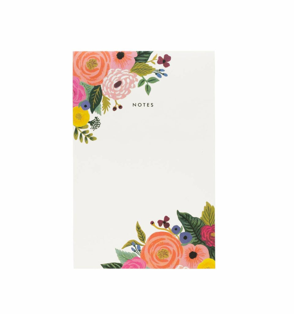 Rifle Paper Co. Juliet Rose Notepad — 75 pages