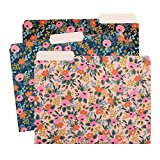 Rifle Paper Co. Rosa Floral Letter Sized File Folders