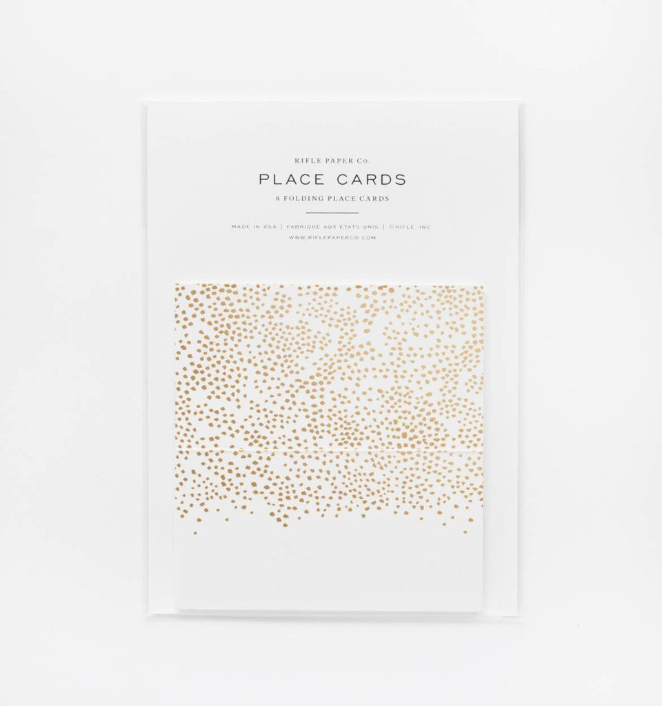 Rifle Paper Co. Place Cards Set of 8 (Champagne)