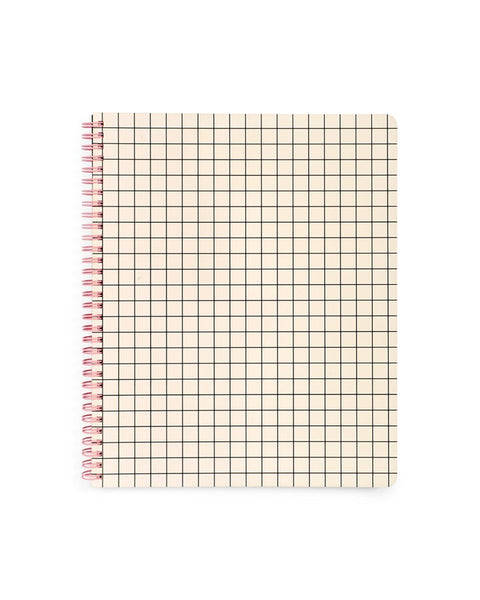 Ban.do Rough Draft Large Notebook (Mini Grid)