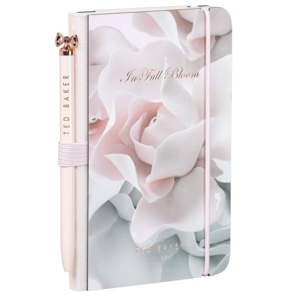 Ted Baker Mini Notebook Porcelain Rose