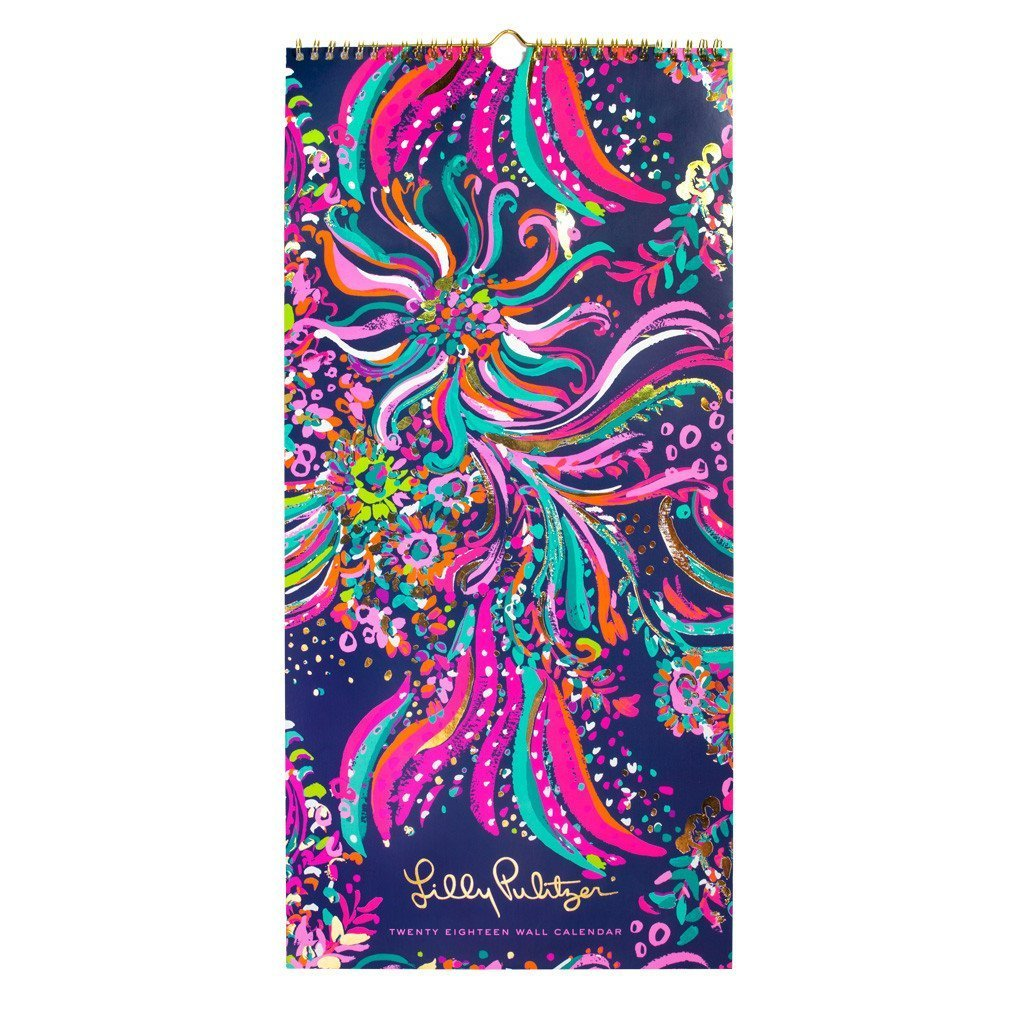 Lilly Pulitzer 2018 Wall Calendar - Beach Loot