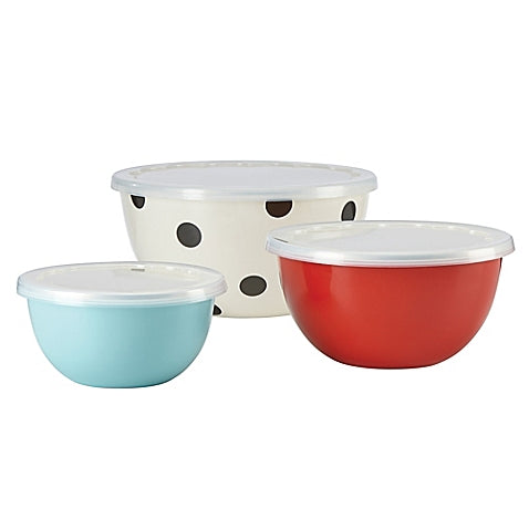 Kate Spade New York Set of 3 Serve and Store Bowls