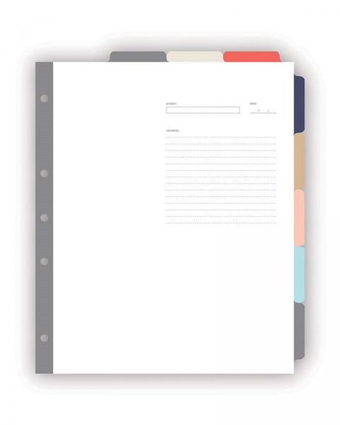 russell+hazel Signature 8-Tab Index Dividers