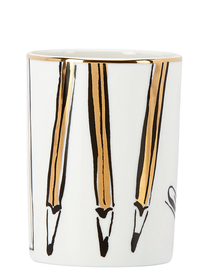 kate spade new york Daisy Place Pencil Cup
