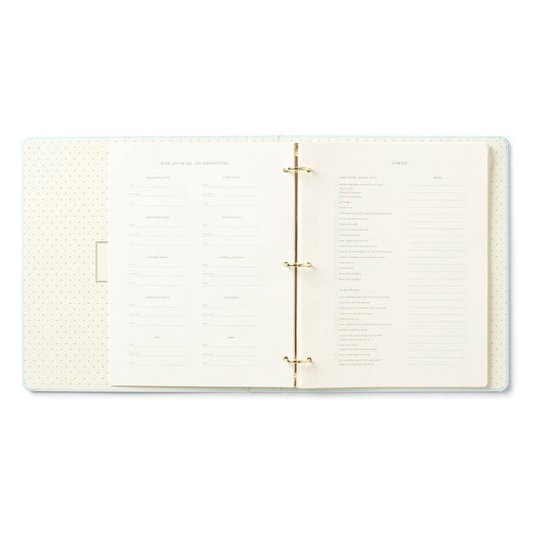 Kate Spade New York Bridal Planner - Love Is In The Air open