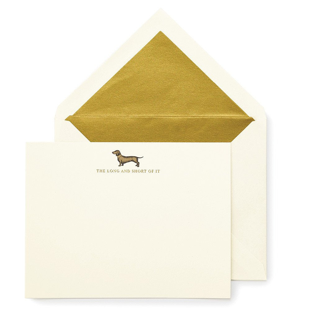 kate spade new york Notecard Set - Long and Short of It