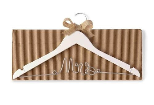 Mud Pie Mrs. Dress Hanger