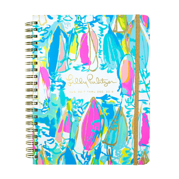 Lilly Pulitzer 2017-2018, 17-month Jumbo Planner
