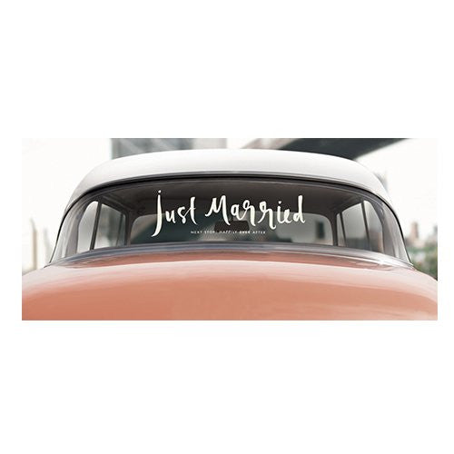 Kate Spade New York Bridal Decal - Just Married