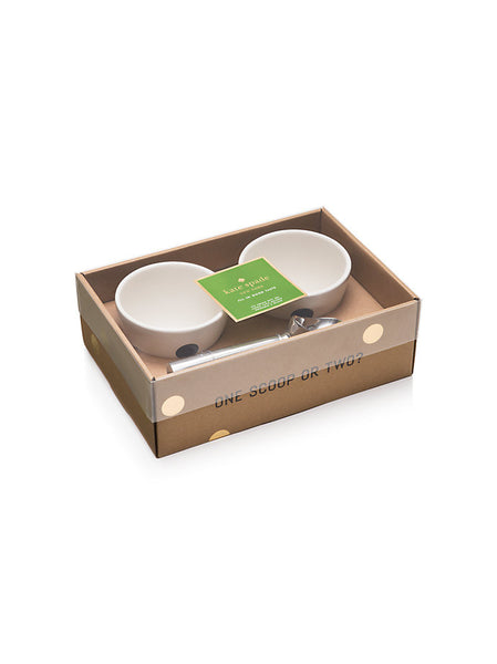 kate spade new york 3 Piece Ice Cream Set