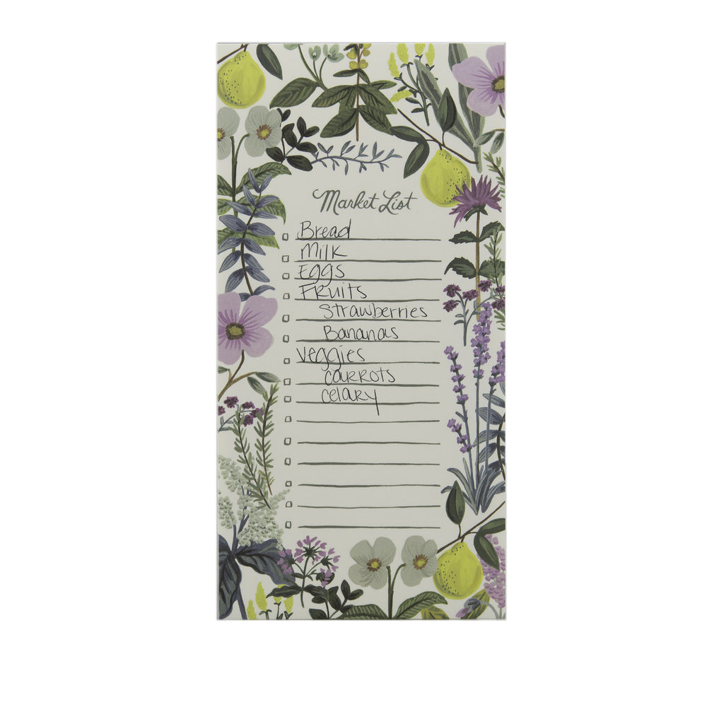 Rifle Paper Co. Market List Pad Herb Garden