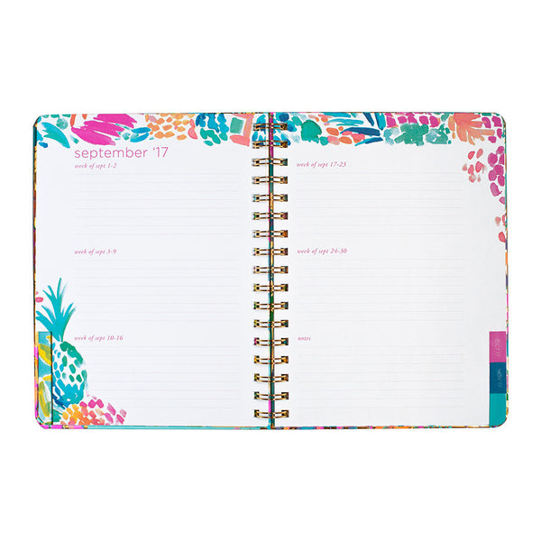 Lilly Pulitzer 2017-2018, 17-month Monthly Planner