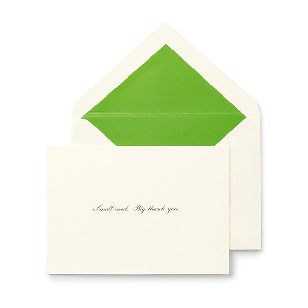 kate spade new york Thank You Notes - Small Card, Big Thank You