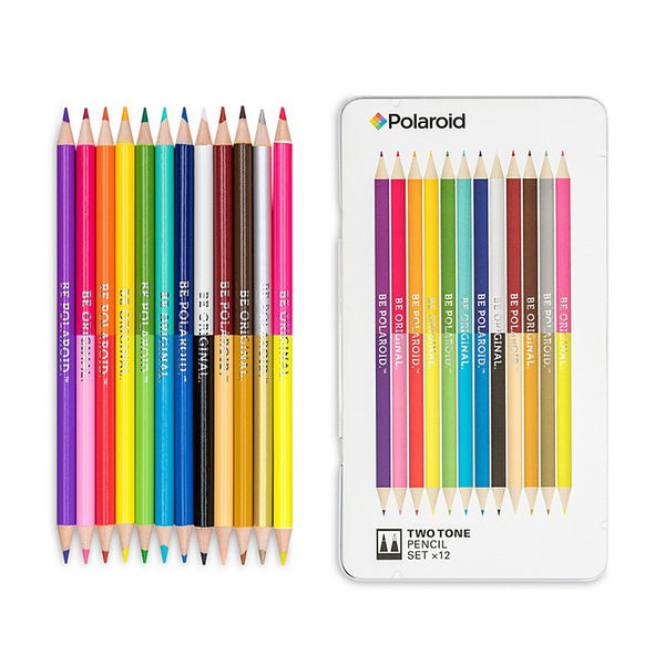 POLAROID TWO TONE PENCIL SET