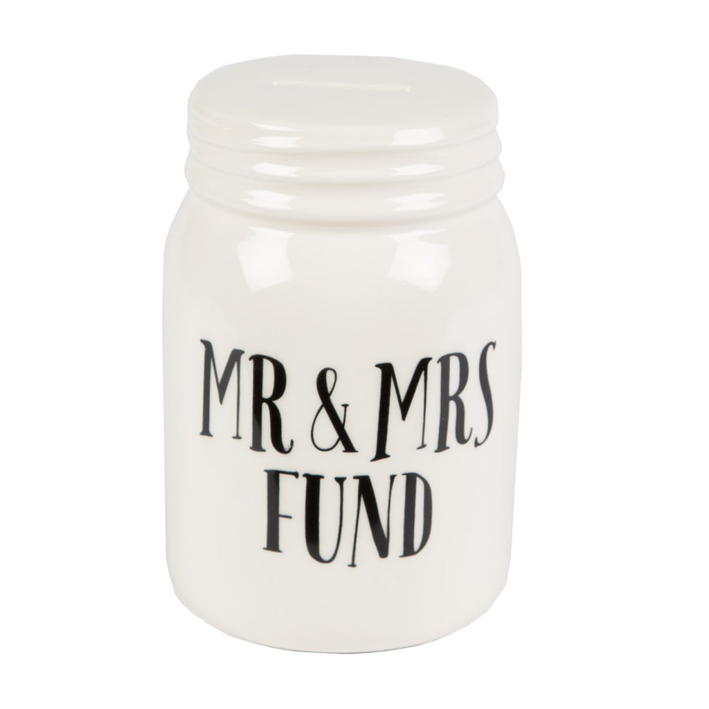 Sass & Belle Mr & Mrs Fund Jar