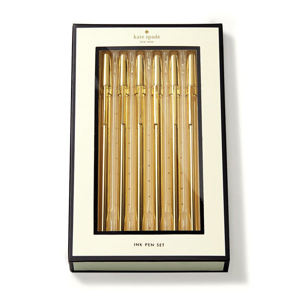 Kate Spade New York Pen Set strike gold