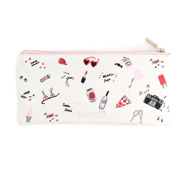Ban.do Pencil Pouch - Girls Just Wanna Have Fun
