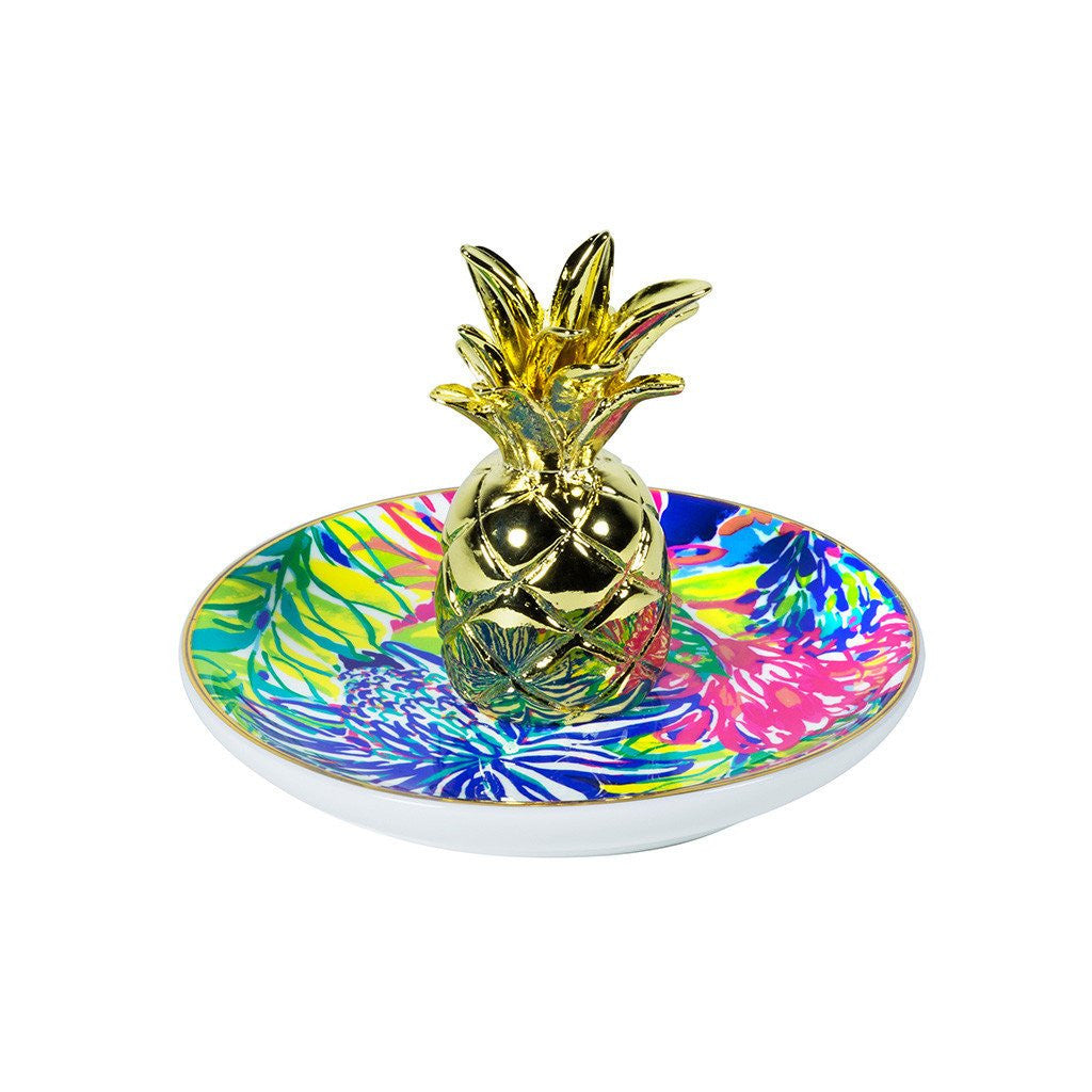 Lilly Pulitzer Ring Holder, Traveler's Palm