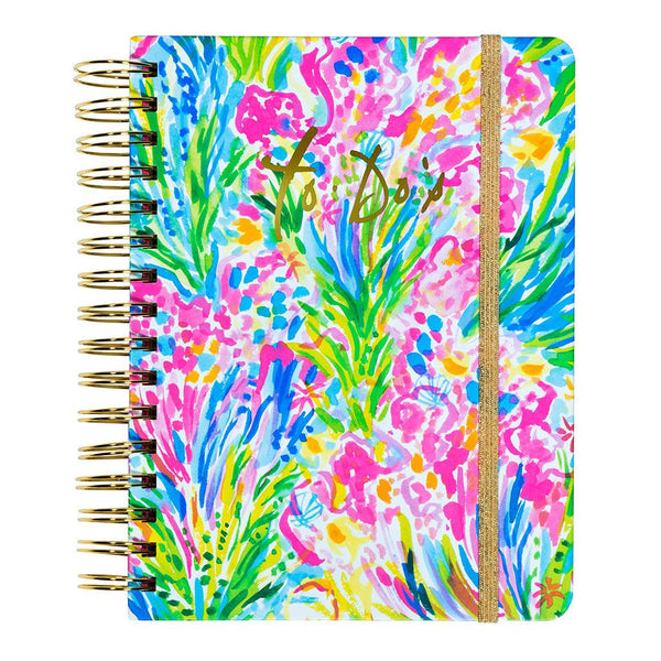 Lilly Pulitzer agenda planner calendar to-do appointment book