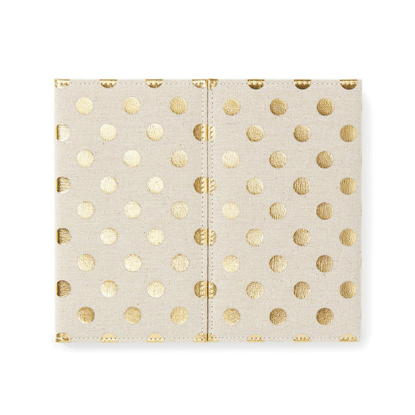 kate spade new york Desktop Weekly Calendar and Folio - Polka Dot