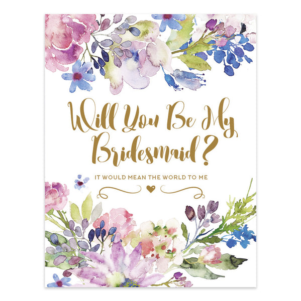 Trulie© Will You Be My Bridesmaid Single Card
