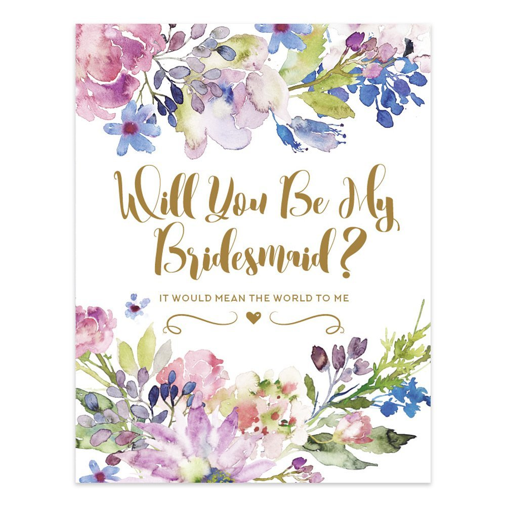 Trulie© Will You Be My Bridesmaid Set of 8