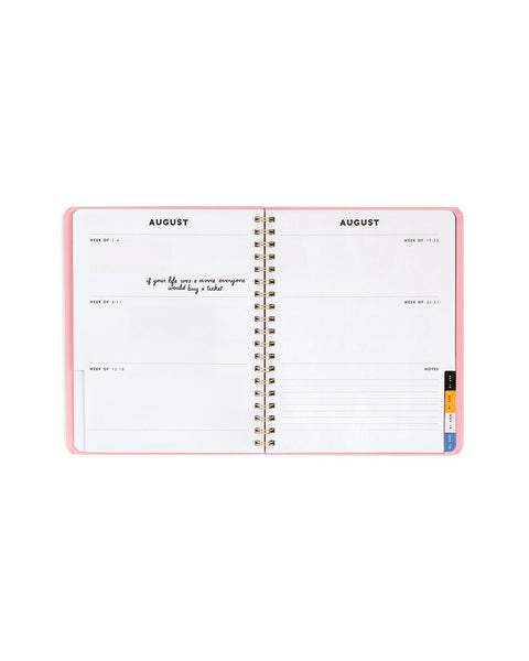 Ban.do 2018 12 Month Compact View Planner