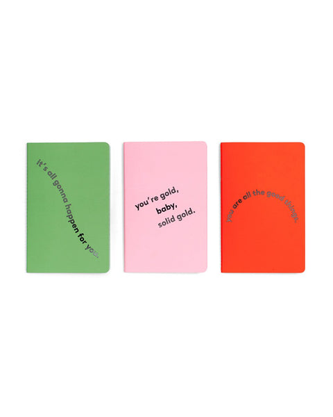 Ban.do Hold That Thought Notebook Set - Compliments