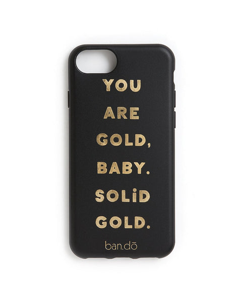 Ban.do Leatherette Bomb iPhone 6/6s Case - You Are Gold